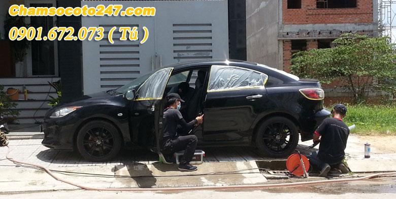 Dịch vụ chăm sóc ô tô tại nhà Uy Tín
