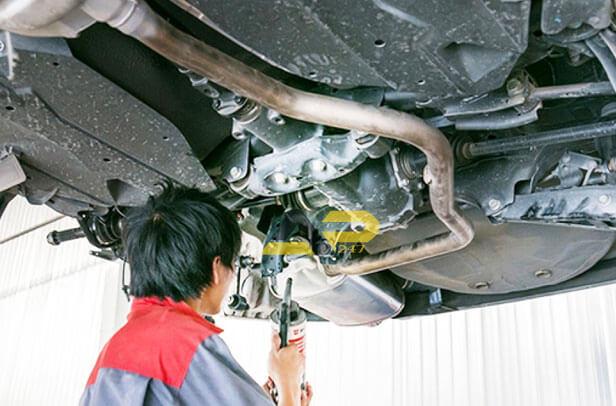 dịch vụ sơn phủ gầm xe ô tô tại tphcm