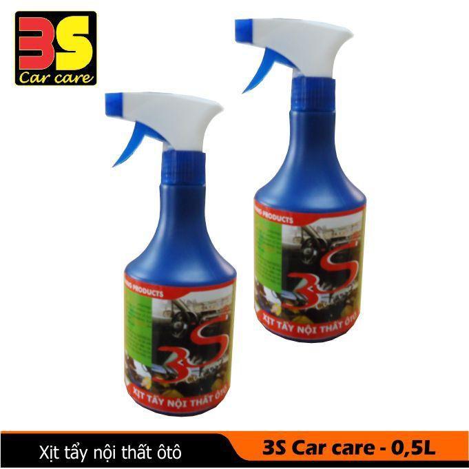 Hóa chất làm sạch nội thất ô tô 3s Car care