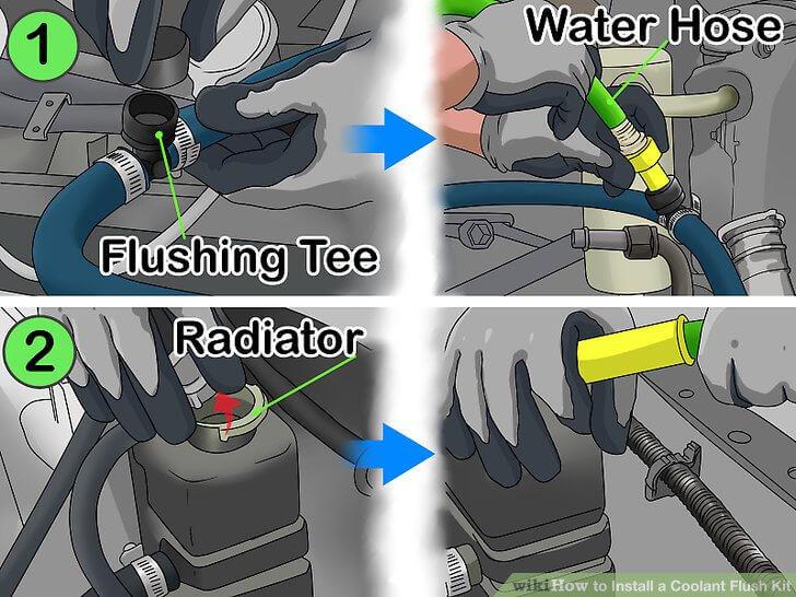 Cách thay nước làm mát xe ô tô